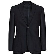 Buy Reiss Jeffery Herringbone Blazer, Navy Online at johnlewis.com
