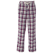 Buy White Stuff Lullabye Check PJ Bottom, Plumbellina Online at johnlewis.com