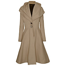 Buy James Lakeland Long Flared Coat Online at johnlewis.com