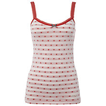 Buy White Stuff Loop the Loop Star Vest, Coral Online at johnlewis.com