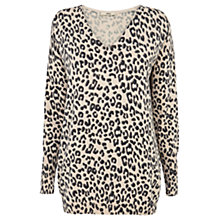 Buy Oasis Animal Jumper, Light Neutral Online at johnlewis.com