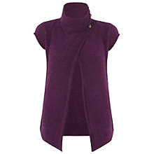 Buy White Stuff Mill Timber Cardigan, Dark Amethyst Online at johnlewis.com