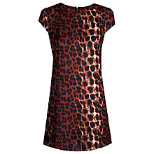 Buy True Decadence Cap Sleeve Shift Dress, Animal Print Online at johnlewis.com
