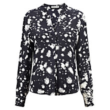 Buy Whistles Melodie Silk Shirt, Multi Online at johnlewis.com