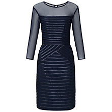 Buy Adrianna Papell Sheath Dress, Navy Online at johnlewis.com