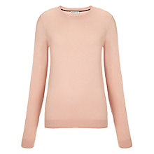 Buy Whistles Amelia Slim Crew Knit Sweatshirt, Pink Online at johnlewis.com