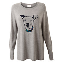 Buy East Archie Knit Jumper, Ash Online at johnlewis.com