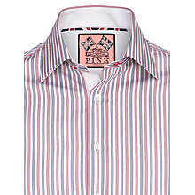 Buy Thomas Pink Wauchope Stripe Shirt, Red/White/Blue Online at johnlewis.com