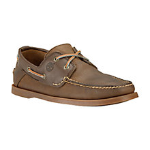 Buy Timberland Earthkeepers Heritage 2-Eye Boat Shoes, Brown/Blue Online at johnlewis.com