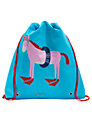 Little Joule Girls' Junior Active Horse Print Bag, Turquoise