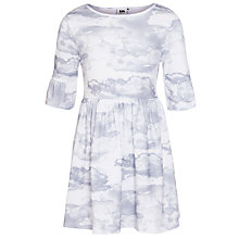 Buy Kin by John Lewis Girls' Cloud Print Jersey Dress Online at johnlewis.com
