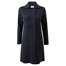 Buy East Milano Knitted Cardigan, Navy Online at johnlewis.com