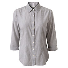 Buy East Stripe Shirt, Navy Online at johnlewis.com
