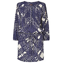 Buy Phase Eight Nordic Yvonne Tunic, Nordic Blue/White Online at johnlewis.com