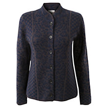 Buy East Floral Jacquard Jacket, Navy Online at johnlewis.com