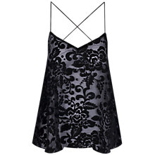 Buy True Decadence Baroque Camisole, Black Online at johnlewis.com