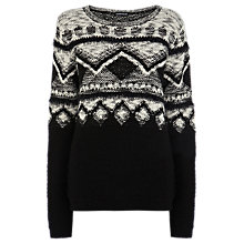 Buy Warehouse Novelty Jumper, Multi Online at johnlewis.com