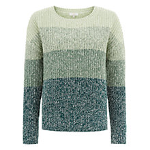 Buy Hobbs Nora Jumper, Lemon Grass Multi Online at johnlewis.com