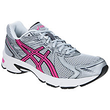 Buy Asics Women's Gel-Impression 6 Running Shoes, Silver/Pink Online at johnlewis.com
