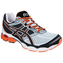 Buy Asics GEL-Pulse 5 Running Shoes, White/Black/Orange Online at johnlewis.com