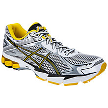 Buy Asics GT-1000 V2 Running Shoes, Silver/Yellow Online at johnlewis.com