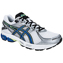 Buy Asics Men's GEL-Innovate 5 Running Shoes, White/Blue Online at johnlewis.com