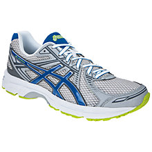 Buy Asics Men's GEL-Expedite Running Shoes, White/Blue Online at johnlewis.com