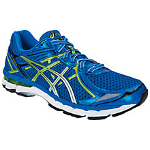 Buy Asics GT-2000 V2 Men's Running Shoes, Blue/Green Online at johnlewis.com