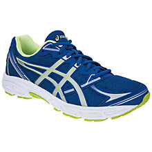 Buy Asics Patriot 6 Running Shoes, Blue/Silver Online at johnlewis.com