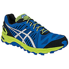 Buy Asics Gel-Fuji Trabuco 2 Gore Trail Running Shoes, Blue/Green Online at johnlewis.com