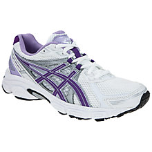 Buy Asics Women's GEL-Galaxy 7 Running Shoes, Silver/Purple Online at johnlewis.com