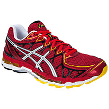 Buy Asics Men's GEL-Kayano 20 Running Shoes, Red/White/Black Online at johnlewis.com