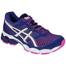 Buy Asics Women's GEL-Pulse 5 Running Shoes, Blue/Pink Online at johnlewis.com