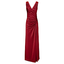 Buy Ariella Tiffany Jersey Long Dress, Red Online at johnlewis.com