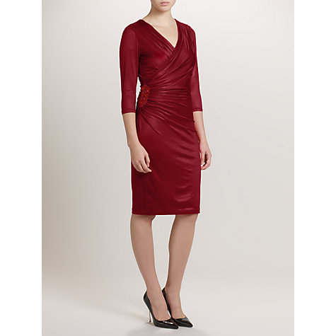 Buy Ariella Baylee Jersey Dress, Red Online at johnlewis.com
