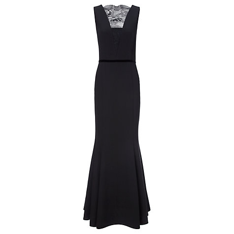 Buy Ariella Simona Maxi Dress, Black Online at johnlewis.com