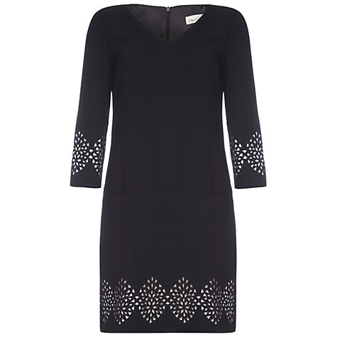 Buy Damsel in a dress Cowrie Dress, Black Online at johnlewis.com