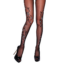 Buy Jonathan Aston Rosy Flower Print Tights Online at johnlewis.com