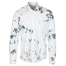 Buy Scotch & Soda Printed Beach Shirt, White Online at johnlewis.com