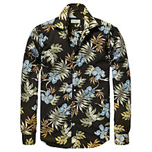 Buy Scotch & Soda Pineapple Print Shirt, Navy Online at johnlewis.com