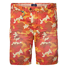 Buy Scotch & Soda Cotton Belted Shorts, Ginger Online at johnlewis.com