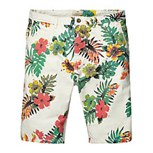 Buy Scotch & Soda Floral Chino Shorts, Floral Online at johnlewis.com