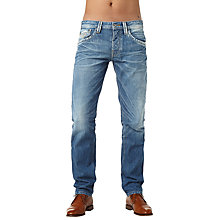 Buy Pepe Jeans Colville Standard Straight Jeans, Denim Online at johnlewis.com