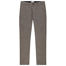 Buy Reiss Castle Brushed Cotton Trousers, Grey Online at johnlewis.com