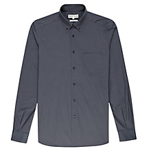 Buy Reiss Toddington Long Sleeve Shirt, Airforce Blue Online at johnlewis.com