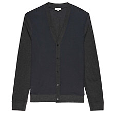 Buy Reiss Shellbourne Waffle Knit Cardigan Online at johnlewis.com