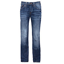 Buy Pepe Jeans Colville Regular Fit 11oz Denim Jeans, Denim Online at johnlewis.com