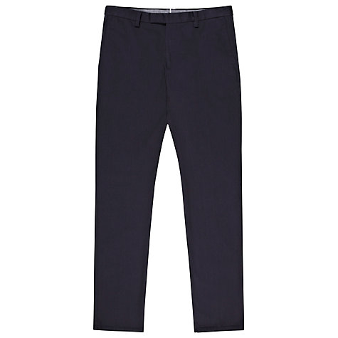 Buy Reiss Tullum Canvas Chinos, Navy Online at johnlewis.com