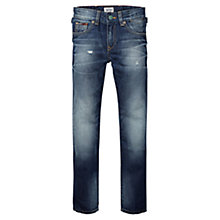 Buy Tommy Hilfiger Boys' Clyde Jeans, Blue Online at johnlewis.com