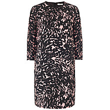 Buy Whistles Spot Print Dress, Pink/Multi Online at johnlewis.com